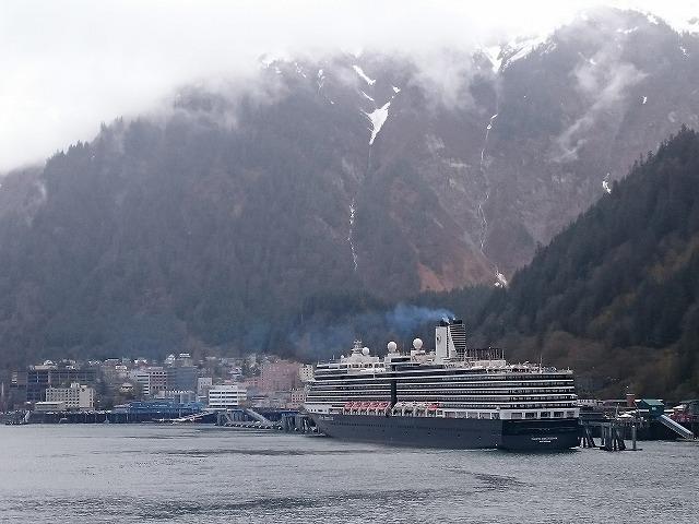 アラスカの船旅