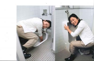 トイレ掃除の実習受けてきました