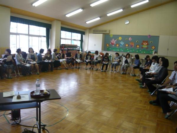 国公立幼稚園、主任会様セミナー