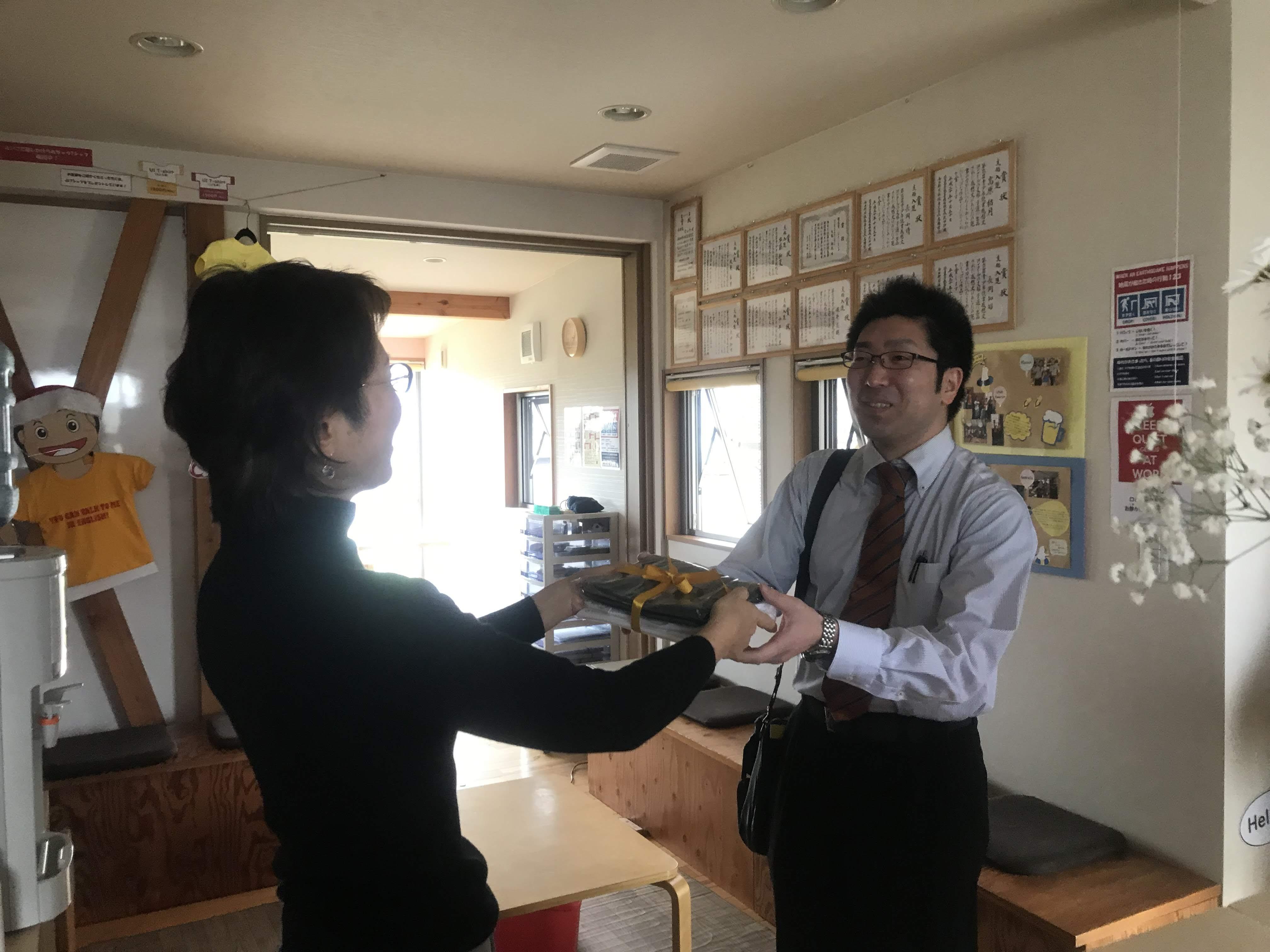 新しい日本人の先生、研修にはいりま~す!