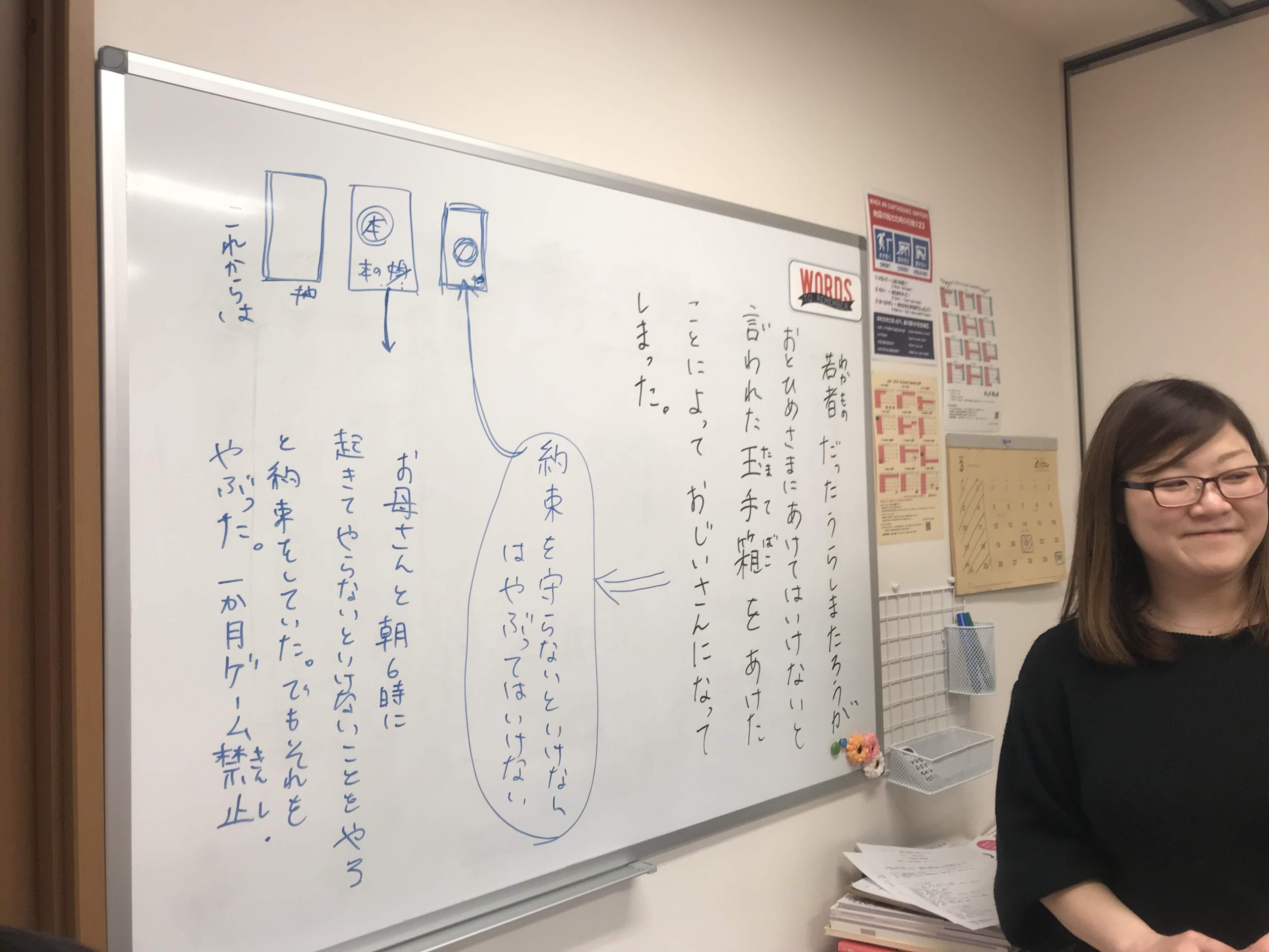 いくえ先生の最後の日本語レッスン★