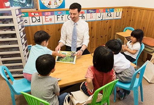 Potato(3歳~4歳)クラスの授業風景画像